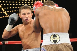 Golovkin finishes Stevens in eight