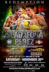Perez - Spadafora poster
