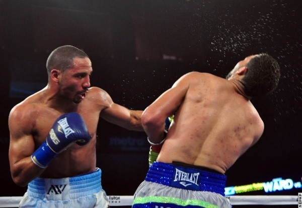 Photos: Ward dominates Rodriguez in virtuoso performance