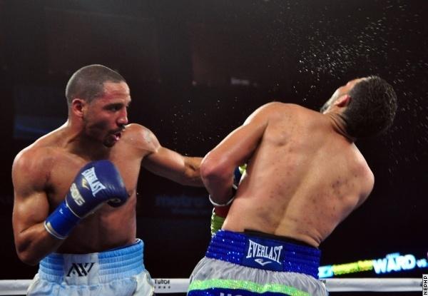 Ward - Rodriguez. Photos BoxingScene.com