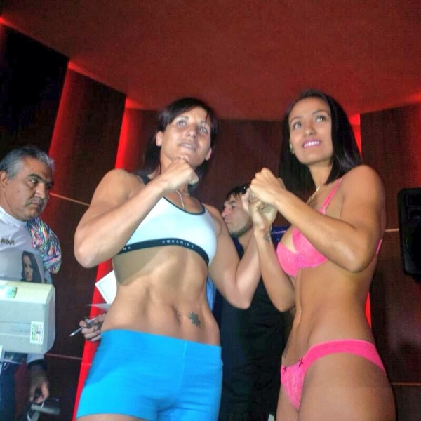 Photos: Edith Matthysse - Ogleidis Suárez weigh-in