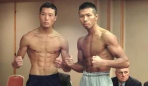 Photos/Weights: Uchiyama vs Kaneko