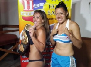 Mónica Acosta will defend her WBA belt in Argentina