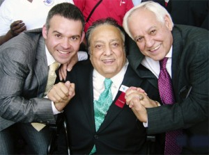 Gilberto Jesús Mendoza, José Sulaiman & Gilberto Mendoza