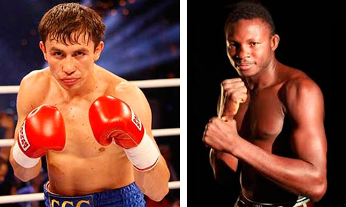 Golovkin vs Adama Officials appointed