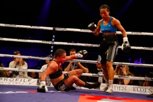 Braekhus succeeded in her 12th defense