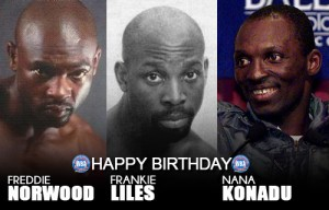 Happy birthday Liles, Konadu and Norwood