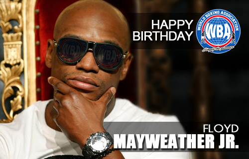 ¡Congrats Floyd Mayweather Jr!