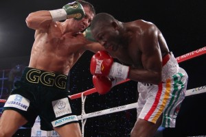 Photos: Golovkin vs Adama