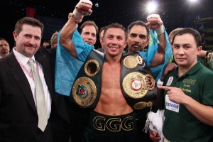 Gennady Golovkin WBA/IBO Middleweight Super Champion