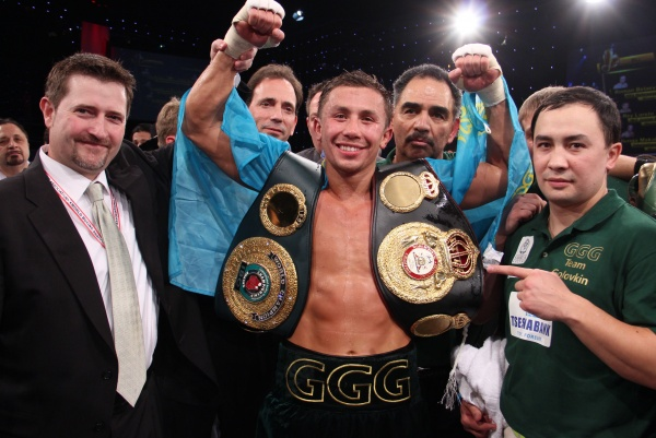 Gennady Golovkin is appointed to super champion