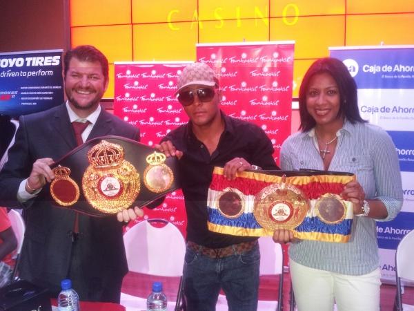 Rogelio Espiño, Anselmo Moreno & Rouss Laguna