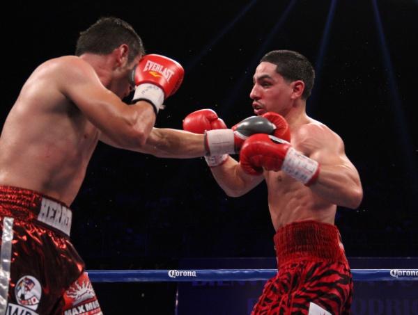 WBA WBC Super Lightweight Champion Danny Garcia vs Mauricio Herrera