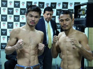 Kono - Denkaosen Weigh-in