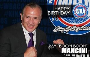 Congrats Boom Boom Mancini