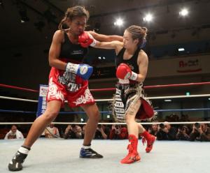 Ayaka Miyao retains WBA Title