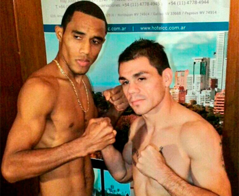 """Coton"" Reveco and Manuel Vides made weight"