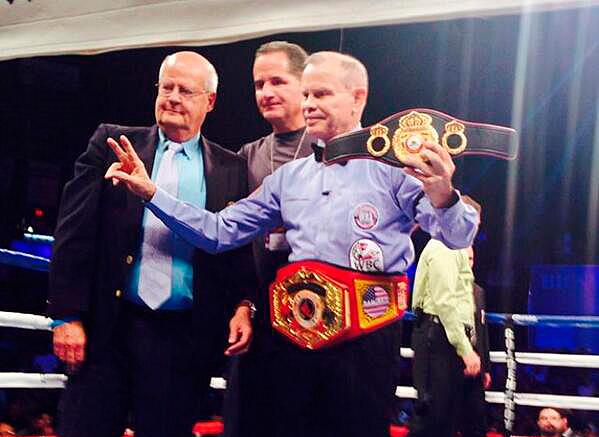 Ramirez Sr received a belt for 200 fights