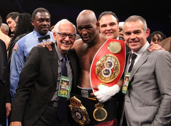 Photos: Bernard Hopkins beats Beibut Shumenov to unify world titles
