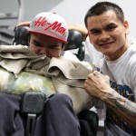 "WBA Welterweight World Champion Marcos ""El Chino"" Maidana media day"