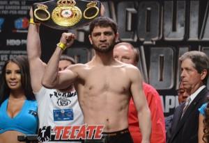 Khabib Allakhverdiev 140lb - Jessie Vargas 140lb WBA Super Lightweight Championship