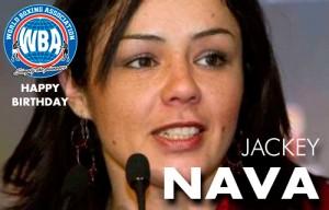 Feliz Cumpleaños a Jackey Nava