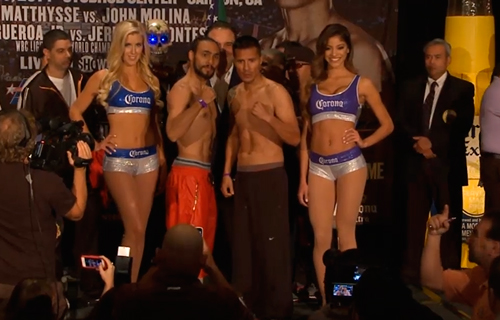 Photos: Thurman – Díaz Weigh-in