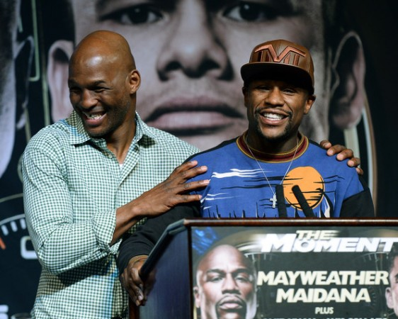 Bernard Hopkins and Floyd Mayweather Jr with the honors of the month