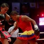 WBA Interim Female Super Teatherweight Champeion Ogleidis Suárez vs Calixta Silgado