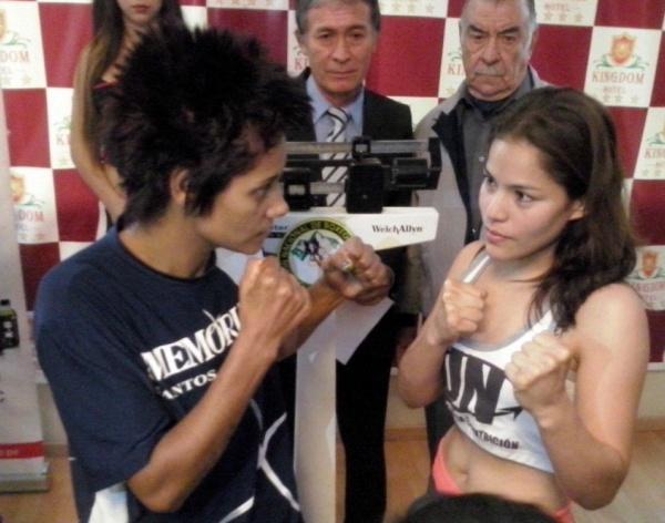 Da Silva vs Lecca listas para pelear interino supermosca