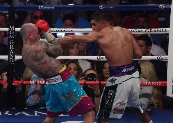 Fotos: Khan vs Collazo
