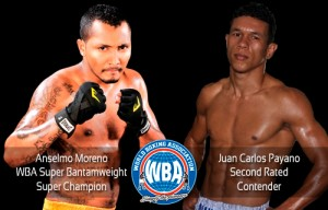 WBA summons Purse Bid for Moreno vs Payano