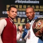 WBA Undisputed Featherweight Champion Simpiwe Vetyeka vs Nonito Donaire