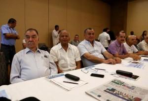 Working agenda in Santo Domingo began