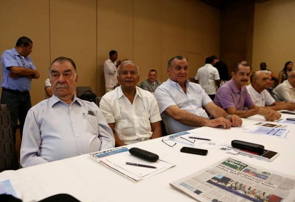 Working agenda in Santo Domingo began