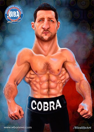 Carl Froch WBA Boxer of the Month