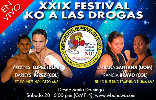 XXIX Festival KO a las Drogas - En Vivo