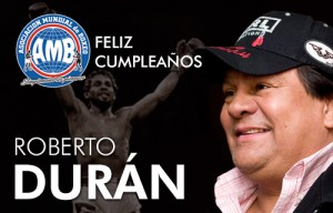 Roberto Duran celebrates another year of life