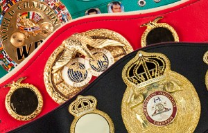 WBA, WBC & IBF Belts