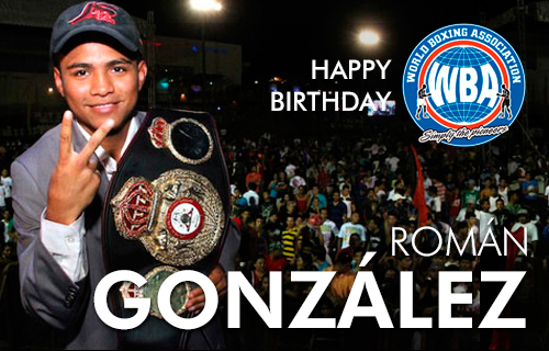Happy Birthday Chocolatito González