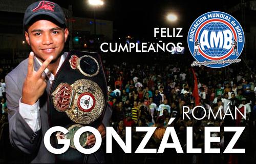 Feliz cumpleaños a Chocolatito González