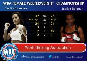 Cecilia Braekhus vs. Jessica Balogun on 6/7