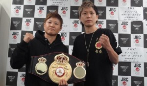 WBA female 115lb champ Fujioka to collide with Kawanishi today