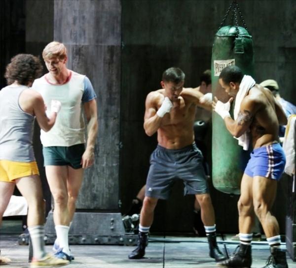 Golovkin met Rocky in  Broadway