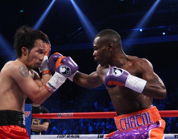 Photos: Rigondeaux scored a first round KO