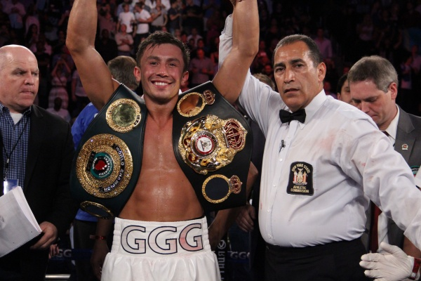 Golovkin is the WBA Boxer the Month