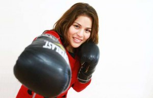 "Interim Champion Linda Lecca: ""boxing is my love, passion and effort"""