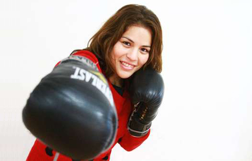 """Interim Champion Linda Lecca: """"boxing is my love, passion and effort"""""""