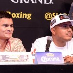 Photos: Mayweather and Maidana Hit Washington DC