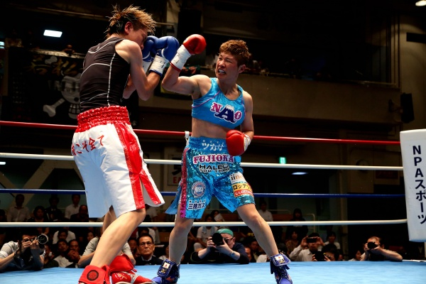 Fujioka keeps WBA Female 115lb belt